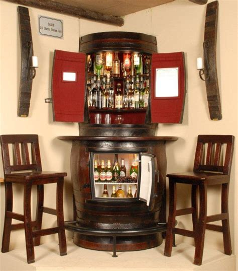Small Corner Bar Cabinet Items Similar To Oakly Corner Liquor Cabinet With Corner Bar Fridge And Two Bar Stools On Etsy