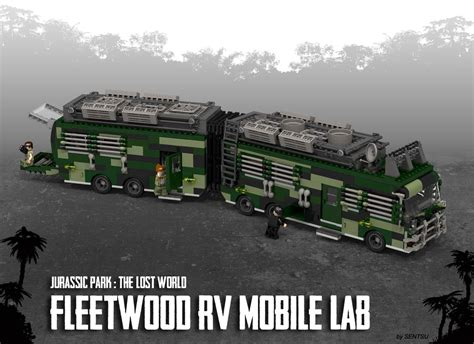 tutorial lego jurassic park lego ideas jurassic park the lost world fleetwood rv