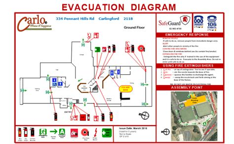 emergency evacuation diagrams getting out alive clearly understanding emergency exits