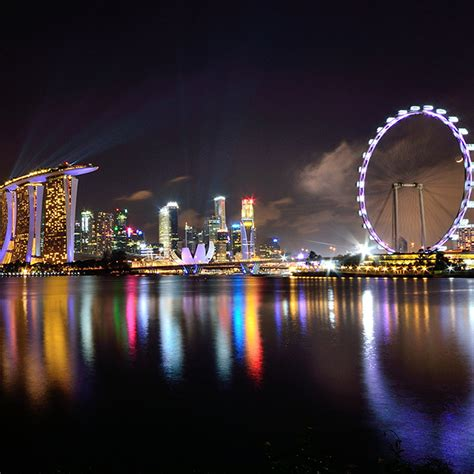 singapore flyer stunning views  singapores skyline