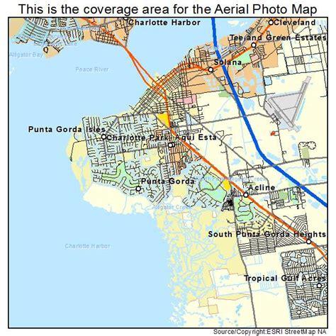 punta gorda florida map aerial photography map of punta gorda fl florida