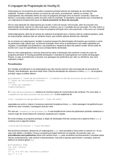 Apostila De Visualg