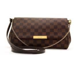 The Cowhide Company Louis Vuitton Damier Favorite Mm Shoulder Bag