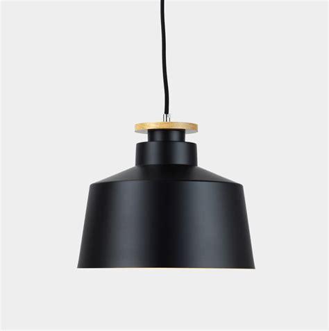 timber metal pendant light