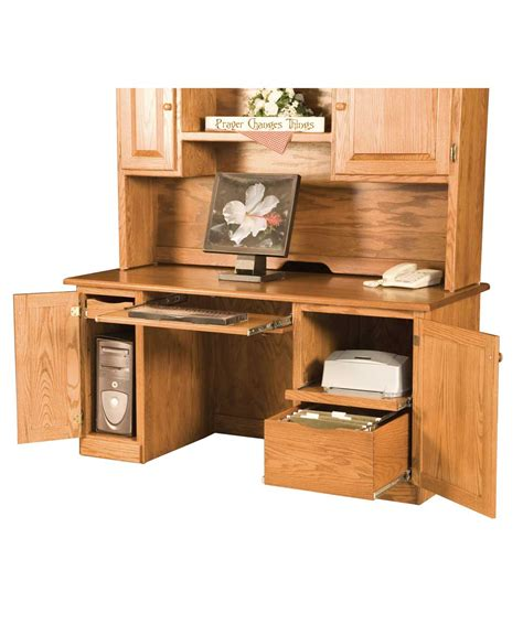 traditional computer desk amish direct furniture