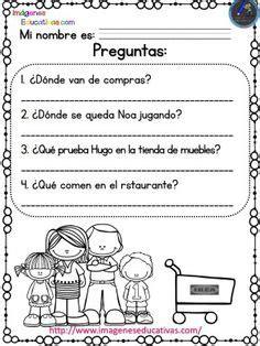 lecturas comprensivas para primaria noa y hugo 7 lecturas comprensivas para primaria y primer grado las