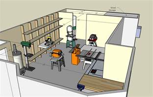 home workshop plans free home plans woodshop floor plans