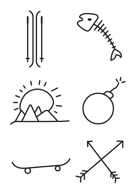 simple tattoo stick and poke designing a few stick n poke tattoo ideas hope you like
