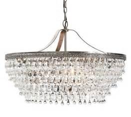 chandelier drops clarissa drop chandelier pottery barn