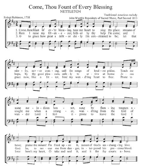 printable sheet music hymns the center for church music songs and hymns