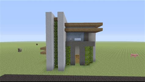 easy house in minecraft how to build a small modern house in minecraft easy youtube