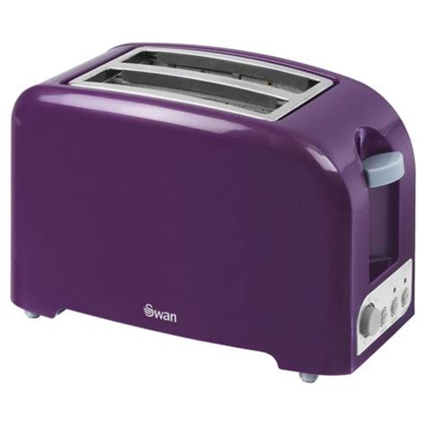 Purple Toaster Buy Swan 2 Slice Toaster Purple From Our Toasters Range