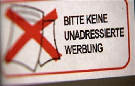 Aufkleber Keine Unadressierte Werbung by Werbepost Immer Mehr Verweigerer Salzburg Orf At