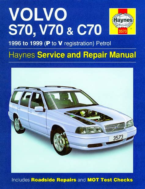 vehicle repair manual 1998 volvo s70 engine control volvo s70 v70 and c70 1996 1999 p to v reg