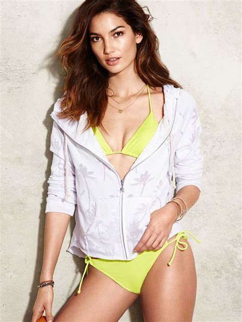 victoria s lily aldridge victoria s secret collection april 2014