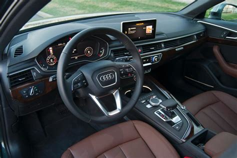 audi dashboard 2017 ratings and review 2017 audi a4 allroad ny daily