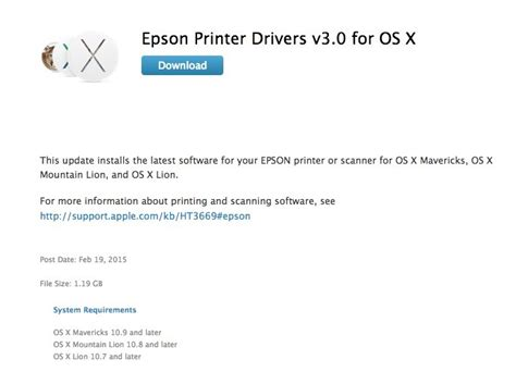 epson printer software download loadfreewellness os x users get new printer drivers this week