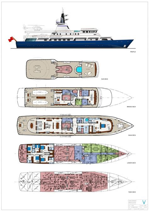 serene yacht layout yacht layout plans images