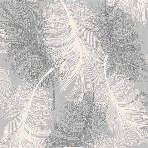 white and grey wallpaper ebay dappled grey feather wallpaper white and silver glitter by