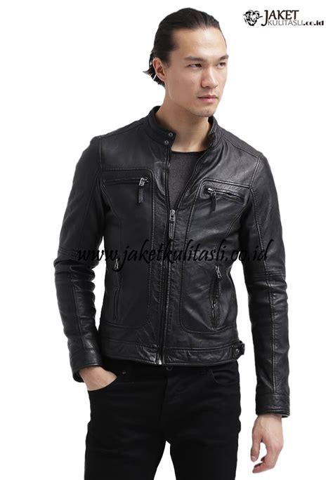 Jaket Kulit Pria Terbaru jaket kulit motor pria terbaru a749