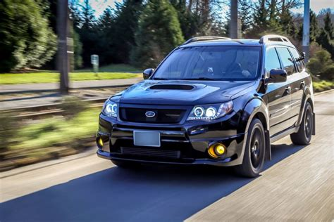 modded subaru forester rides
