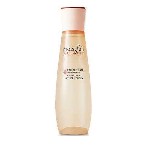 Toner Collagen etude house moistfull collagen toner 200ml free