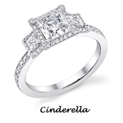 dp engagement rings cinderella disney princess photo