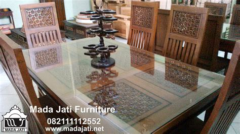 Pot Bunga Jati Furniture Kursi Makan Kursi Tamu Bufet Dipan Jati kursi makan sribu bunga mada jati furniture