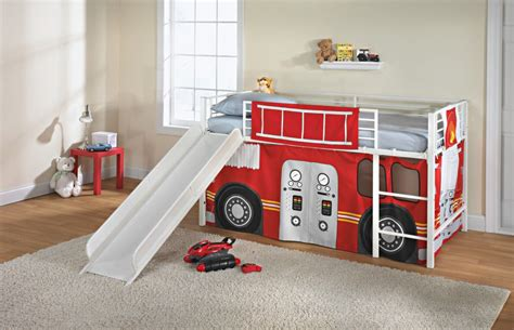 firetruck bedroom fire truck furniture totally kids totally bedrooms