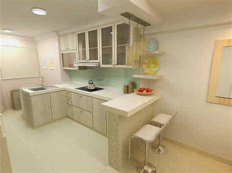 Kitchen Design For Small Flat Aldora Hdb Resale Flat Journey Part 2 Interior Design Kitchen Living Dining Area