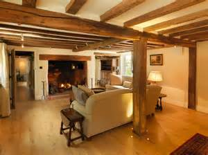 Kitchen Designers Hampshire 17th century thatched cottage farmhouse living room