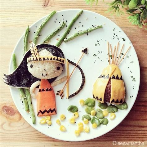 design art and food adorable food art by samantha lee 16 pics pleated jeans