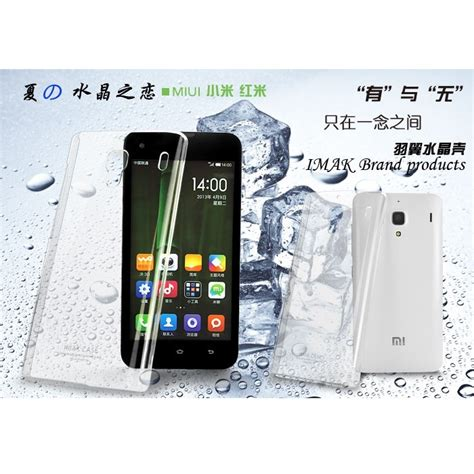 Xiaomi Redmi 1s Casing Imak 1 Ultra Thin Hardca 2010 imak 2 ultra thin for xiaomi redmi 1s transparent jakartanotebook