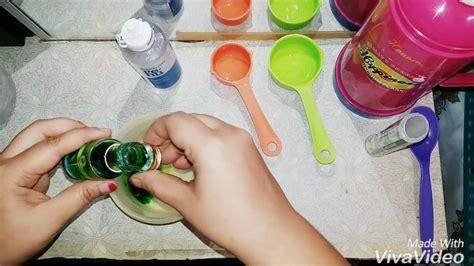 cara membuat slime malaysia cara buat slime tanpa borax eye lens solution versi