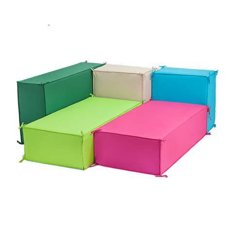 outdoor upholstery foam green large waterproof garden soft foam sofa seating block