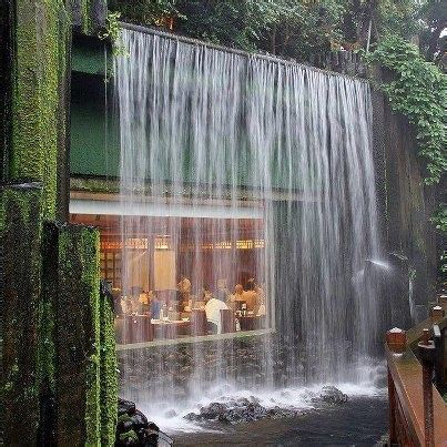 waterfall house beautiful living spaces pinterest
