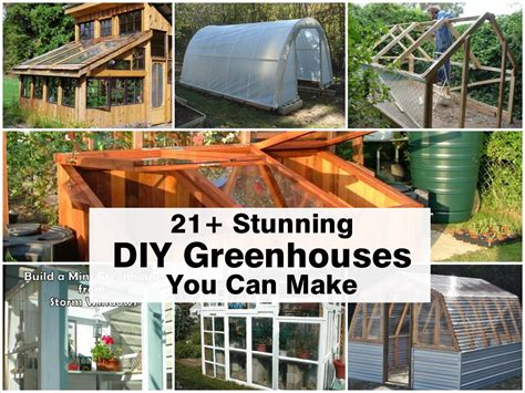 21 Stunning Diy Greenhouses You Can Make | 21 stunning diy greenhouses you can make