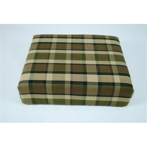 plaid beige canap beige plaid stool cover for westfalia late bay buddy seat