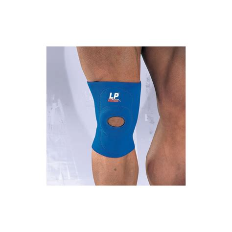 Lp Support Knee Open Patella Blue Uk M Lp 708 Promo buy lp open knee support run and become specialist