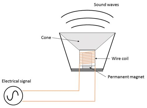 what pattern of organization does the speaker use how loud can paper speakers get