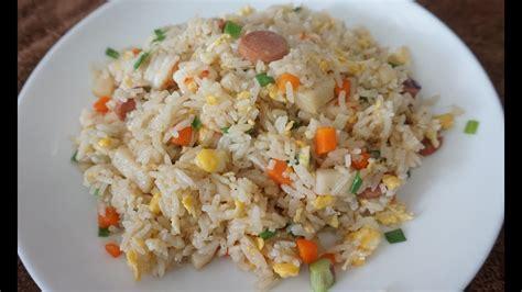 resep nasi goreng chinese youtube