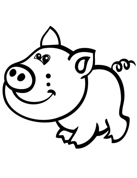 cartoon pig pages coloring pages