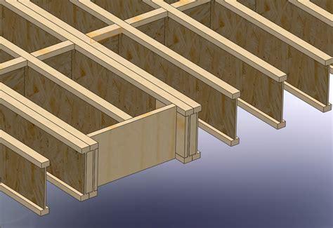 Floor Joist Blocking workshop studio stanwood wa