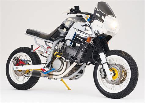 honda machine honda transalp war machine by cool kid customs bikebound