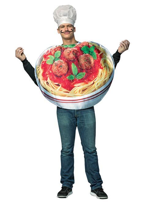 Pilgrim Decorations Spaghetti And Meatballs Costume Food Costumes