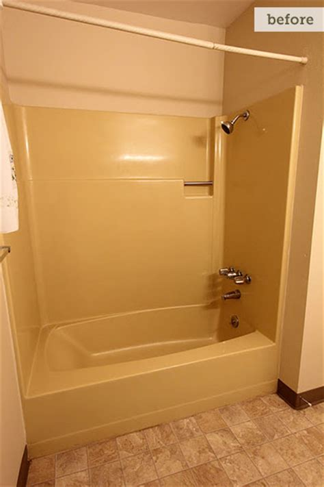 70s Bathroom Remodel by Before Dated Tub Before And After From 70s To