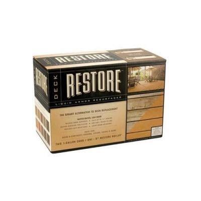 Restore Deck Liquid Armor Resurfacer by Restore Deck Liquid Armor Resurfacer Coating At Home Depot