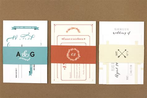 15 vs design wedding stationery chic vintage