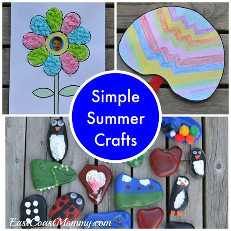 easy crafts for summer east coast august 2016