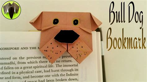 Useful Origami Crafts - how to make a paper quot bulldog bookmark quot useful origami